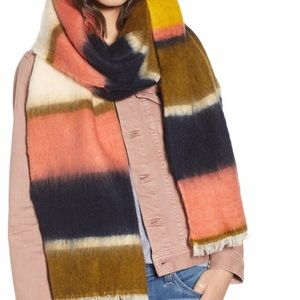 Madewell Multi Color Scarf Stripeweave